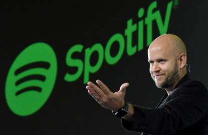 Spotify CEO Daniel Ek: Once the Music Industry's Slayer, Now Its Savior - WSJ