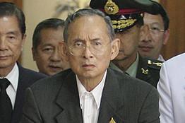 [Thailand's King Bhumibol Adulyadej ]