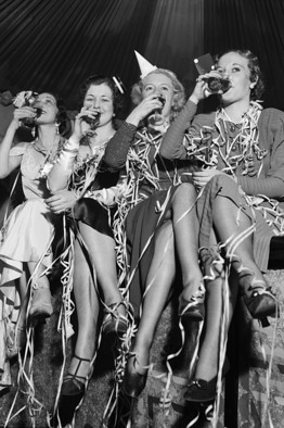 Ladies Enjoying the Original Repeal Day, 1933