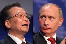 [Wen and Putin]