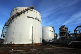 [Global oil demand is seen falling]
