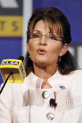 Sarah Palin addresses Asian investors. (Associated Press)