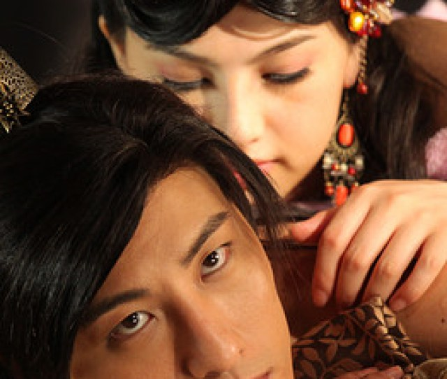 Ed Jones Afp Getty Images Actress Saori Hara Top And Actor Hiro Hayana Perform During Filming On The Set Of 3 D Sex And Zen Extreme Ecstacy In Hong