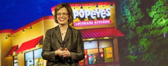 Popeyes CEO: Skip the Water-Cooler Gossip