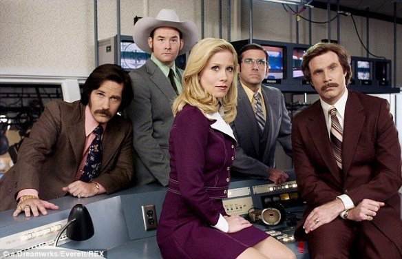 ... Ferrell's inspiration for Anchorman's Ron Burgundy   Daily Mail Online