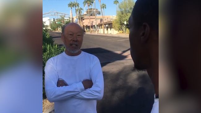 "Scottsdale Arizona Asian man tells black man this is a ""NO Nigger Zone"""