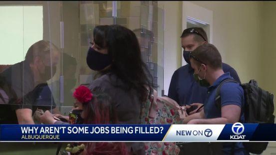 Το ξενοδοχείο Albuquerque έχει περισσότερα από δώδεκα ανοίγματα, αλλά ο διευθυντής λέει ότι δεν μπορούν να βρουν εργαζόμενους