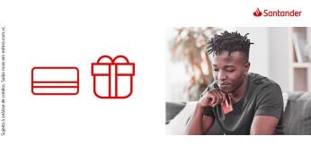Peça seu cartão de crédito Santander 100% online