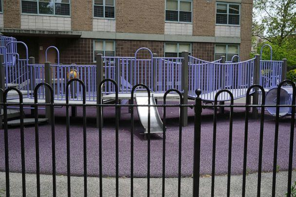 PHOTO: The playground is empty in East New York on May 19, 2020 in New York. (Spencer Platt / Getty Images)