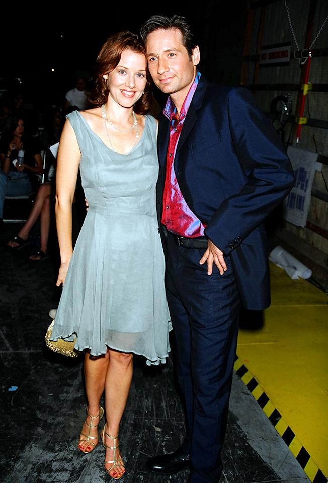 Penelope Ann Miller and David Duchovny