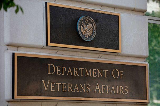 PHOTO: The US Department of Veterans Affairs building is seen in Washington, D.C., on July 22, 2019. (Alastair Pike/AFP via Getty Images, FILE)