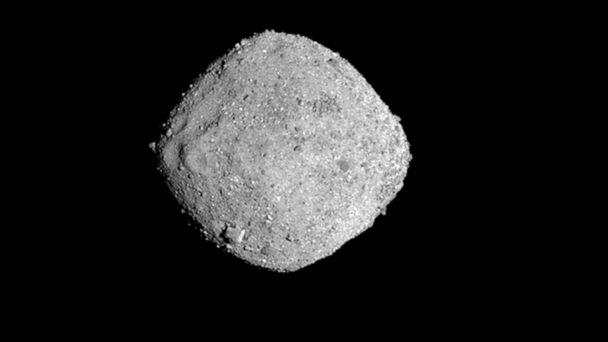 PHOTO: Bennu, seen in this Nov. 16, 2018, photo provided by NASA, is similar to another asteroid expected to pass by the Earth a little before 8 p.m. EDT on Saturday. (University of Arizona/Goddard/NASA via AP, FILE)