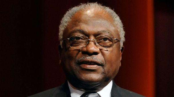 PHOTO: FILE PHOTO: Rep. James Clyburn attends the Correspondents for Radio and Television dinner in Washington on June 19, 2009. (Pool / Getty Images)