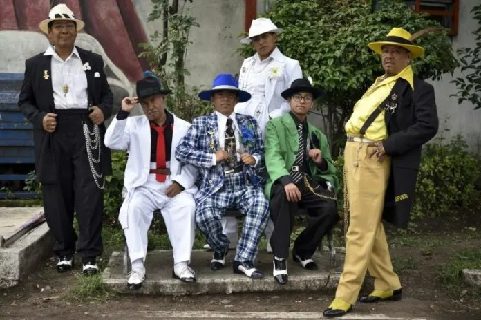 Los pachucos, from Mexican gang members in the US to mambo and swing dancers