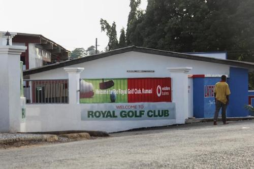 The abduction just outside the Royal Golf Club has tarnished Ghana's image as one of the safest countries in West Africa (AFP Photo/MAHMUD MOHAMMED-NURUDEEN)