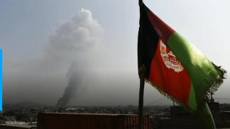 U.S. air strikes target Taliban fighters advancing on key Afghan city