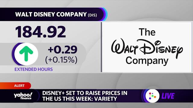Disney+ set to raise prices in the US this week