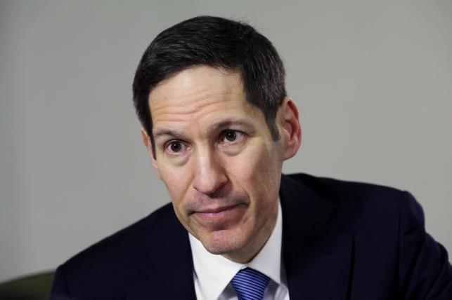 Ex-CDC director Frieden accused of groping woman's buttocks
