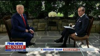 Chris Wallace Wants Biden to Sit Down for Tough Interview Like Trump
