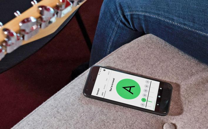 fender brings its guitar tuner app to android devices   engadget