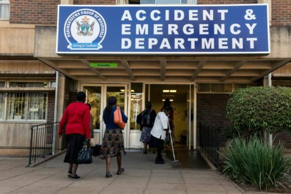 Since the early 1990s, the public health system has steadily deteriorated, whereas before, people came from overseas to be treated in Zimbabwe (AFP Photo/Jekesai NJIKIZANA)