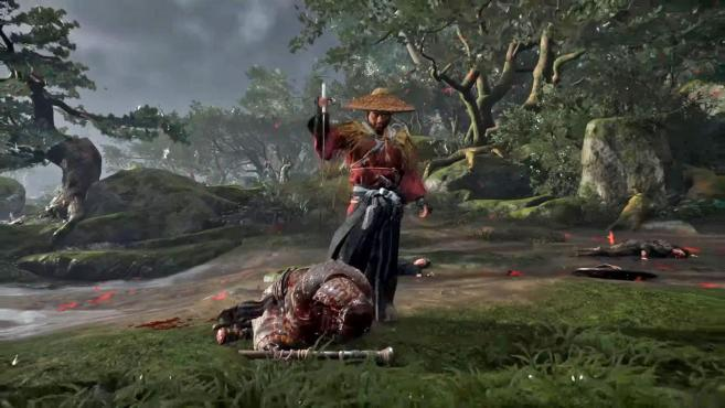 Ghost of Tsushima' shows off gorgeous, brutal combat   Engadget