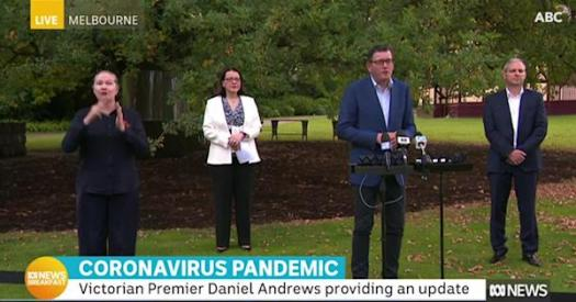 Victoria premier announces state is going to stage 3 ...