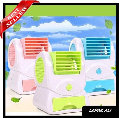 Fan Air Cooler Portable:  Kipas Angin Model  AC Mini Ukuran Kecil USB Murah