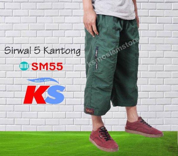 Sirwal 5 Kantong - Best Seller