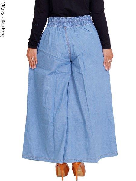 termurah Celana Panjangwanita ukuran JUMBO kulot jeans