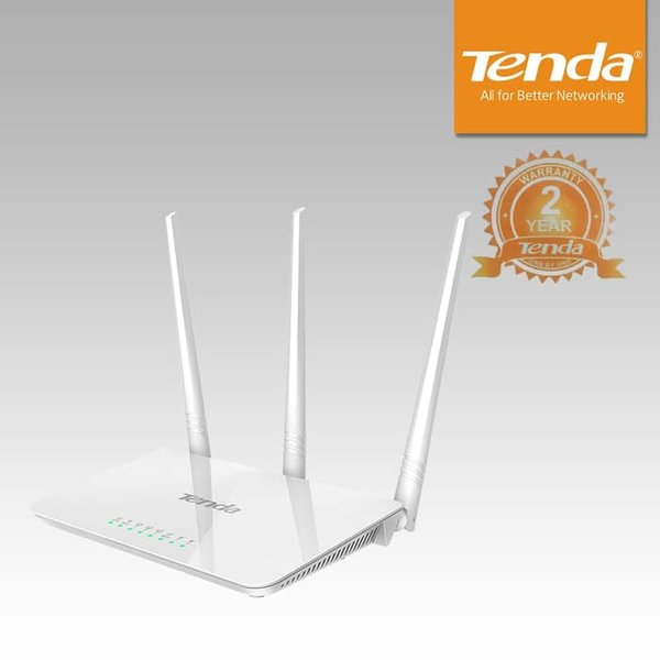 New WiFi Router Tenda F N  Antena