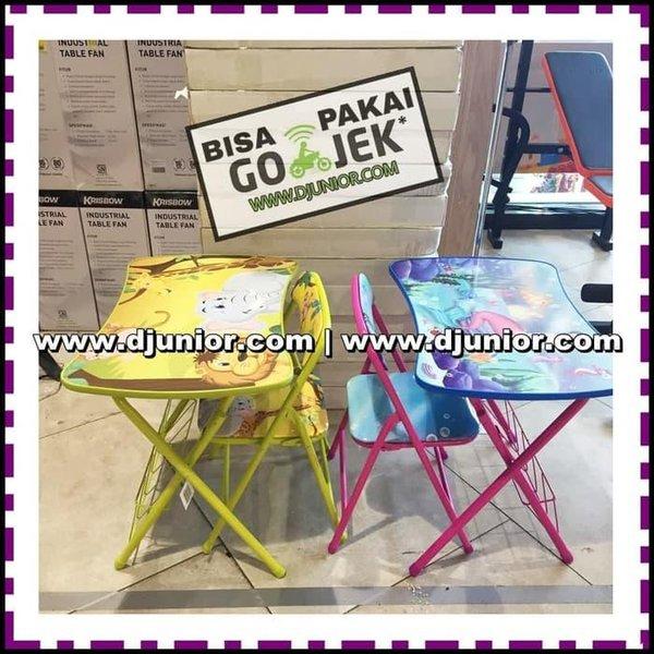 Promo Soleil Meja Kursi Set Anak Meja Belajar Lipat Kids Table Chair Kuning Berkualitas Di Lapak Yunan Daniar Stock Bukalapak