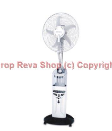 Kipas Angin Uap Air Embun Misty Fan Humidifier Krisbow Berfungsi sbg Emergency Lamp