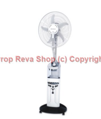Kipas Angin Uap Air Embun Misty Fan Humidifier Krisbow Berfungsi sbg Emergency Lamp