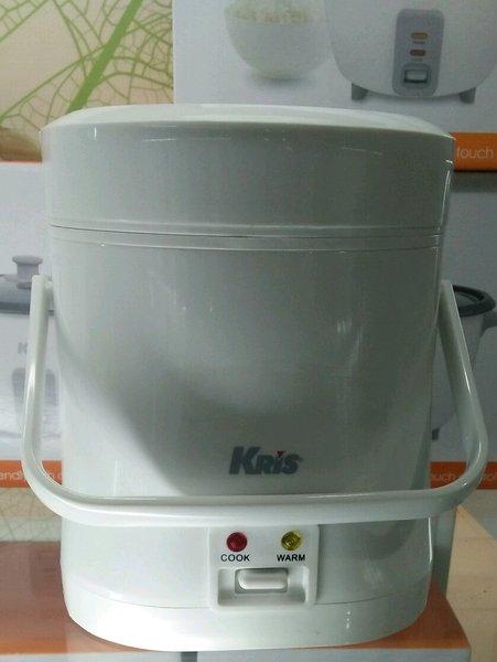 Kris Mini Rice Cooker 0.3 Liter Putih