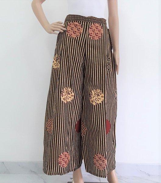 Celana Batik Kulot Panjang Almira AA02