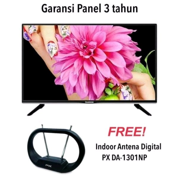 CHANGHONG 32G4A LED TV 32 INCH - HDMI VGA USB MOVIE - PROMO FREE ANTENA