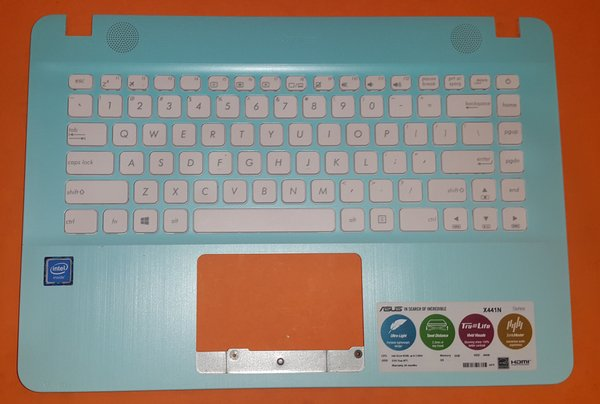 Keyboard Asus X441N Frame Keyboard Asus Plus frame Warna Biru Telor Asiin