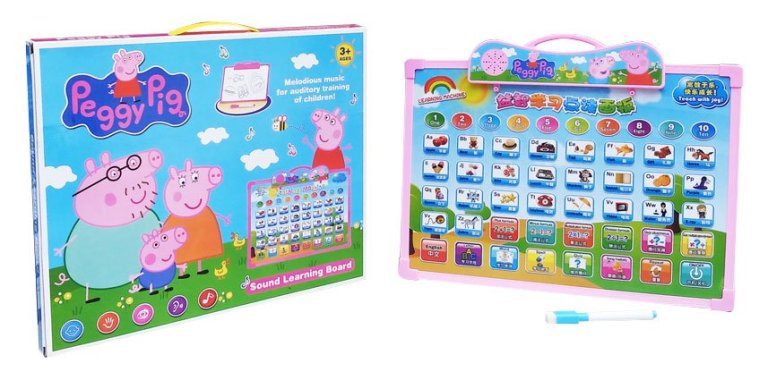 Peppa Pig Learning Board 88933e Termurah