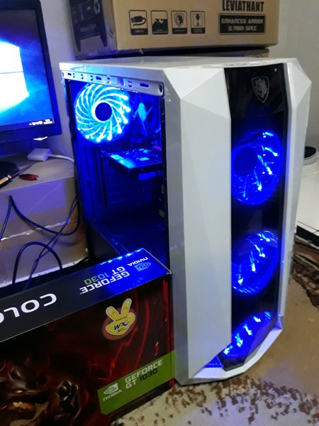 CPU - KOMPUTER - PC GAMING CORE i5 feat RX550 2GB DDR5 SIAP GAMING RENDERING