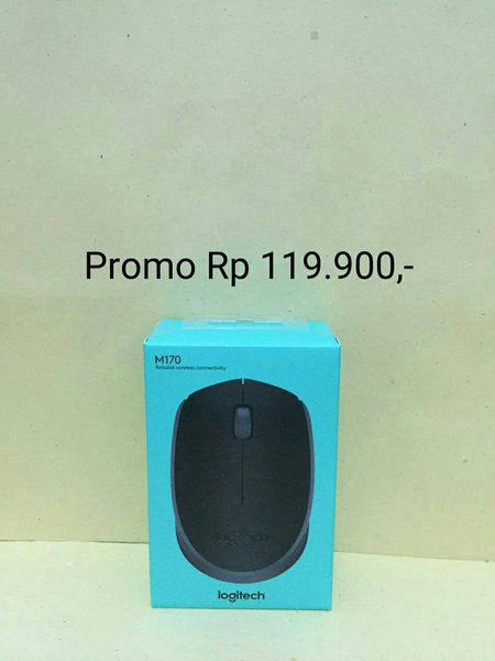 Baru Mouse Wireless Logitech M165