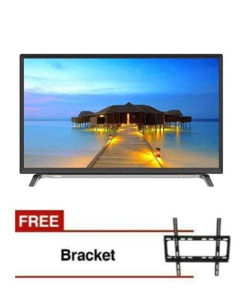 Promoo Toshiba 32L5650 Smart Led Tv Usb Movie.U002Fopera.Bonus Bracket Dinding