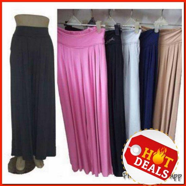 celana kulot panjang spandek rayon  Murah berkualitas untuk pria wanita hadiah kado mewah keren