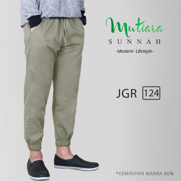 Jogger Pants - Celana Jogger - Sirwal Jogger - Celana Jogging Pria - Celana Olahraga - JGR 124