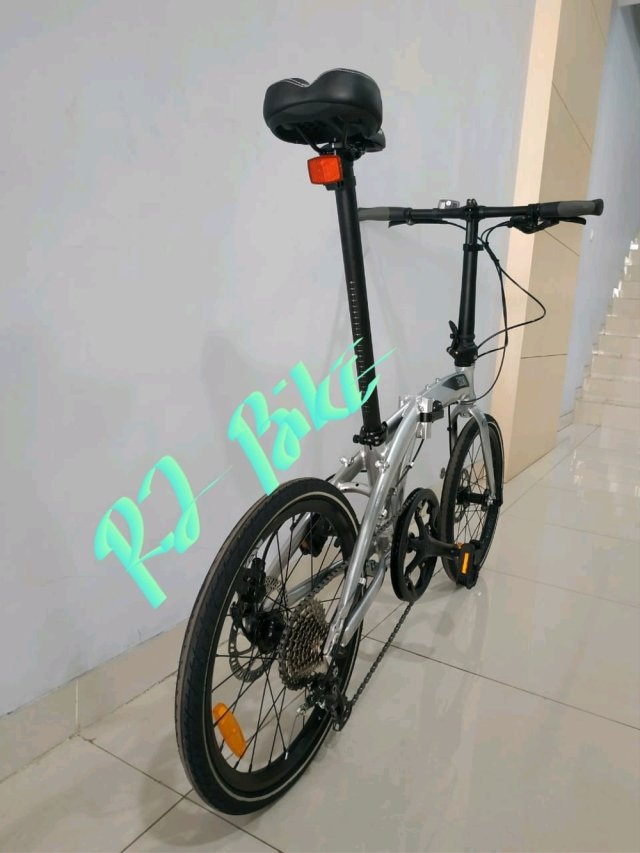Jual Folding Bike Ecosmo 9 Speed Element 20 inch di lapak ...