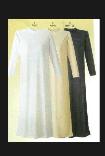 Unik manset gamis kaos dalaman baju mumer Murah