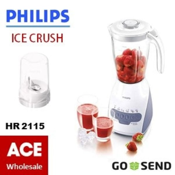 Blender & Juicer BLENDER PHILIPS PLASTIC HR2115  atau  BLENDER PLASTIK HR 2115 Philip