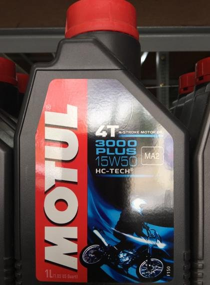 Oli Motul 4T 3000 Plus 15W50 Hc-Tech 1L