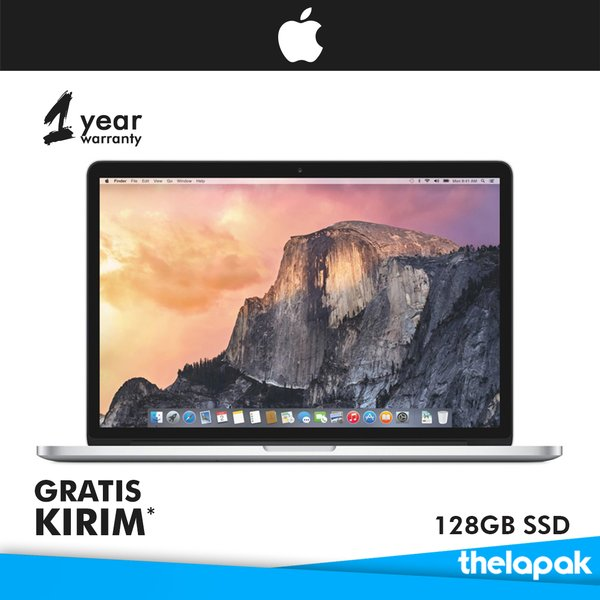 Notebook Apple Macbook 15.4inch Intel Core i7 - 2.2GHz Quad Core - 16GBRAM - 256GB SSD MJLQ2
