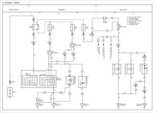 WIRING DIAGRAM TOYOTA AVANZA  Auto Electrical Wiring Diagram